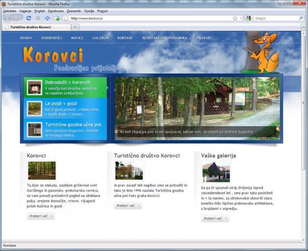 Turistično društvo Korovci