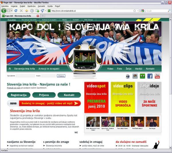 Slovenija ima krila
