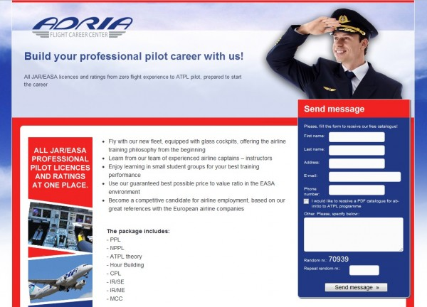 Build your professional pilot career