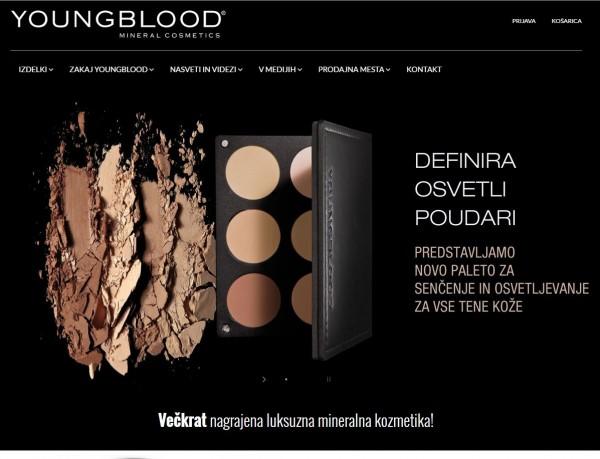 Youngblood mineralna kozmetika