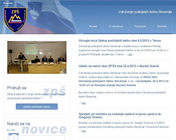 Združenje policijskih šefov Slovenije