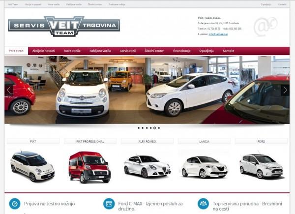 Veit Team - Servis in trgovina